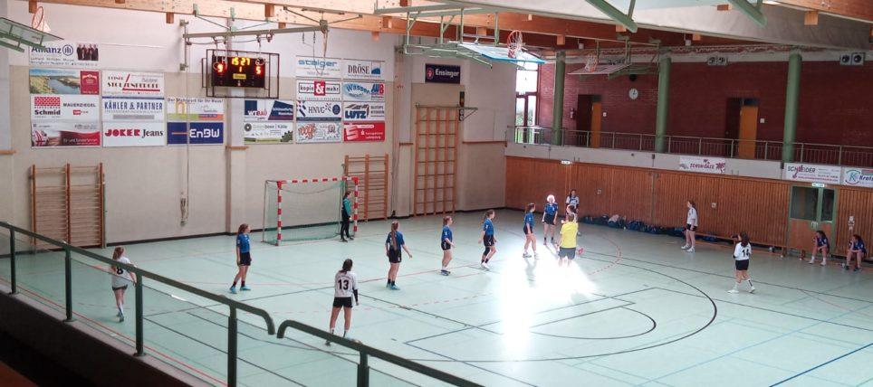 Weibliche B-Jugend verliert in Bönnigheim