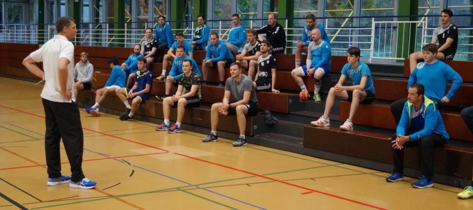 Marc Rudolf-Wolke neuer Trainer bei der ersten Männer-Mannschaft
