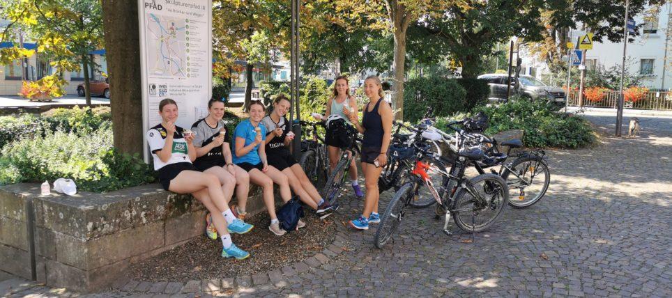 Vorbereitung der Frauen-Mannschaft