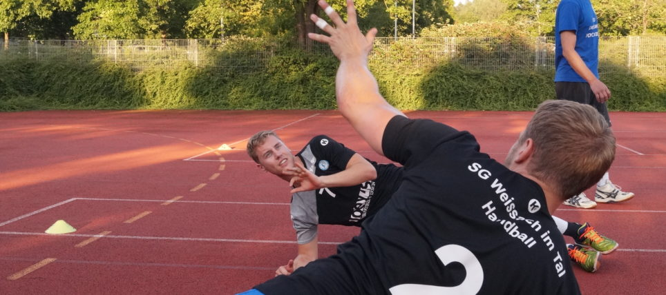 Trainingsimpressionen der Männer-Mannschaft