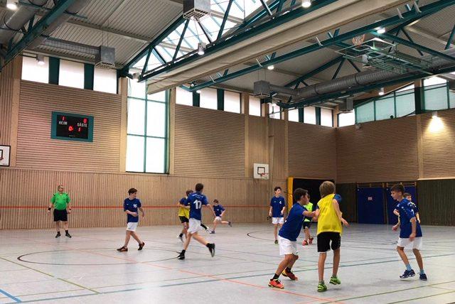 Männliche D-Jugend gewinnt gegen die HSG Neckar FBH