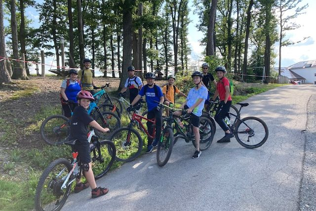Ferienprogramm Handballer-Radtour