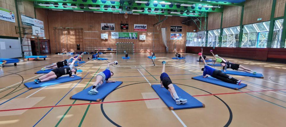 Trainingslager der Frauen-Mannschaft