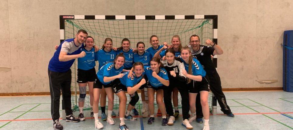 Weibliche B-Jugend gewinnt im Derby gegen Sulzbach-Murrhardt